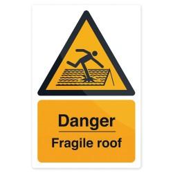 Znak: Danger Fragile RoofSztywnt