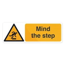 Znak: Mind The StepSamoprzylepny 300 x 100 mm-713473-Fixman
