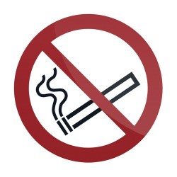 Znak: No Smoking SymbolSamoprzylepny 100 x 100 mm-769154-Fixman