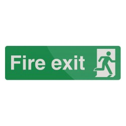 Znak: Fire Exit400 x 150 mm-726937-Fixman