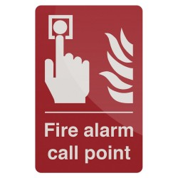 Znak: Fire Alarm Call PointSamoprzylepny 100 x 150 mm-846757-Fixman