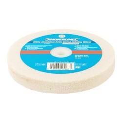 Biala tarcza szlifierska z tlenku glinuSrednioziarniste 150 x 20 mm-915507-Silve
