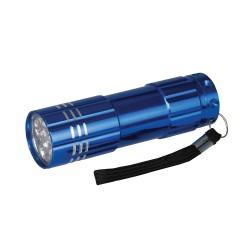 Aluminiowa latarka typu LED9 LED-226491-Silverline