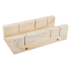 Skrzynka uciosowa drewniana250 x 85 mm-447130-Silverline