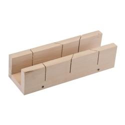 Skrzynka uciosowa drewniana290 x 55 mm-892546-Silverline