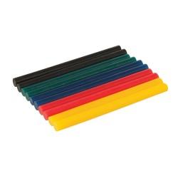 Kolorowe mini wklady klejowe