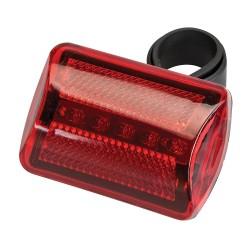 Lampka rowerowa Czerwona 5 LEDCzerwona-794545-Silverline