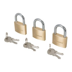 Mosiezne klódki na klucz
