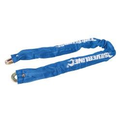 Powlekany lancuch z klódka900 mm-656609-Silverline