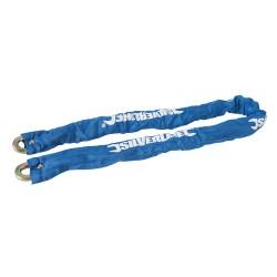 Powlekany lancuch z klódka1200 mm-719795-Silverline
