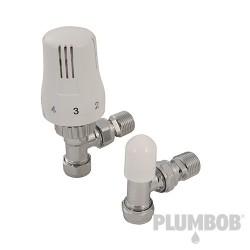 Zawór grzejnikowy katowy z glowica termostatyczna15 mm-917830-Plumbob