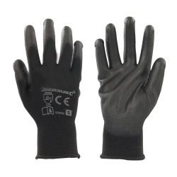 Czarne rekawiczki z PU powlokaS-578493-Silverline