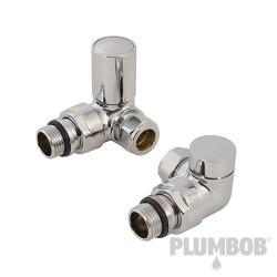 Katowy zawór grzejnika lazienkowego i zawór odcinajacy15 mm-894121-Plumbob