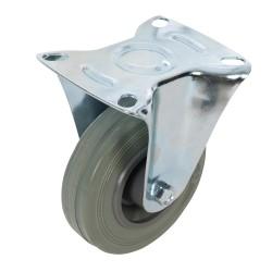 Kólko stale gumowe100 mm 70 kg-873019-Fixman