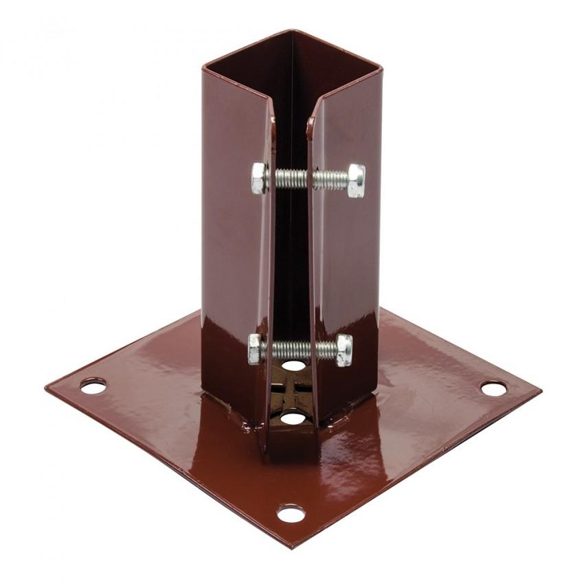 Podstawa slupa przykrecana50 x 50 mm-926988-Fixman