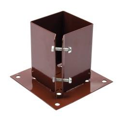 Podstawa slupa przykrecana100 x 100 mm-721033-Fixman