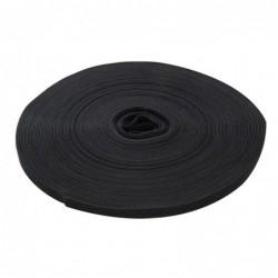 Czarna rolka rzepu, 10 mm x...