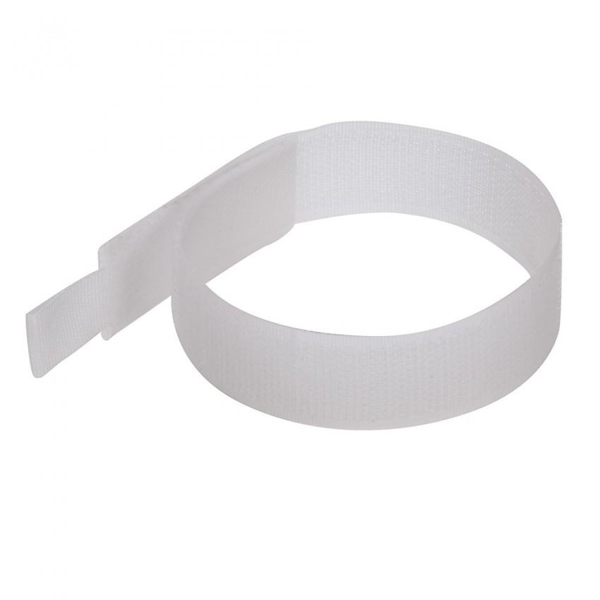 Rzepy do kabli 10-pakBiale 150 mm-849309-Fixman
