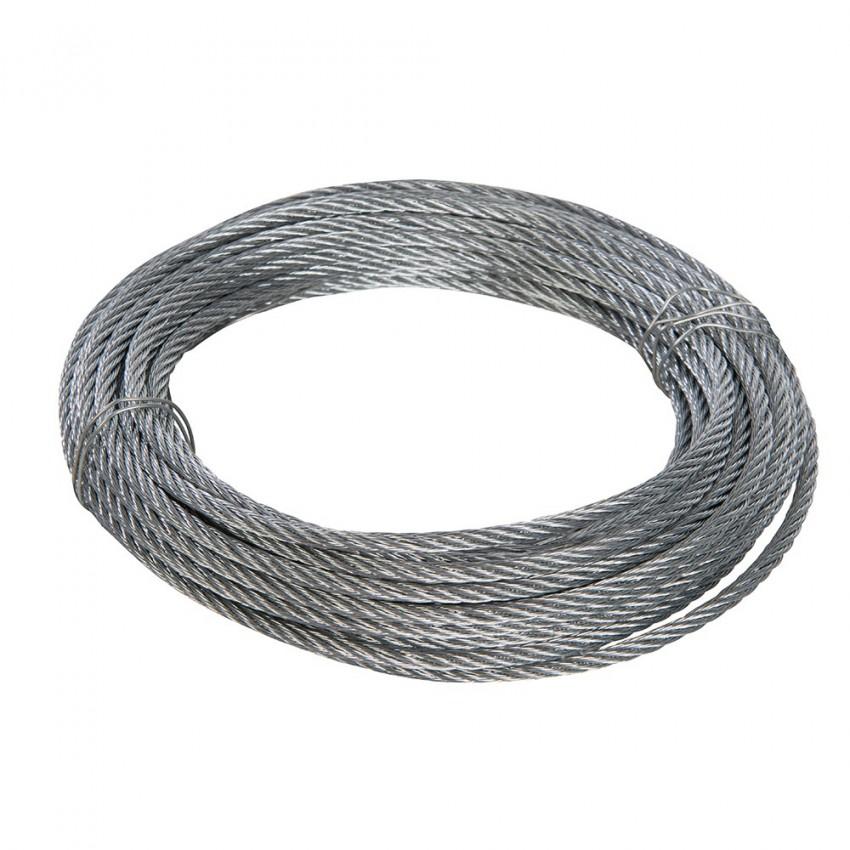 Ocynkowana stalowa lina6 mm x 10 m-858237-Fixman