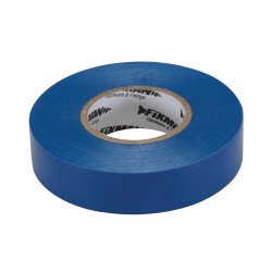 Tasma izolacyjna19 mm x 33 m niebieska-187539-Fixman