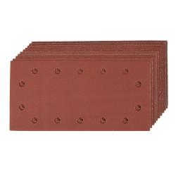 Arkusz papieru sciernego z otworami i mocowaniem na rzep
