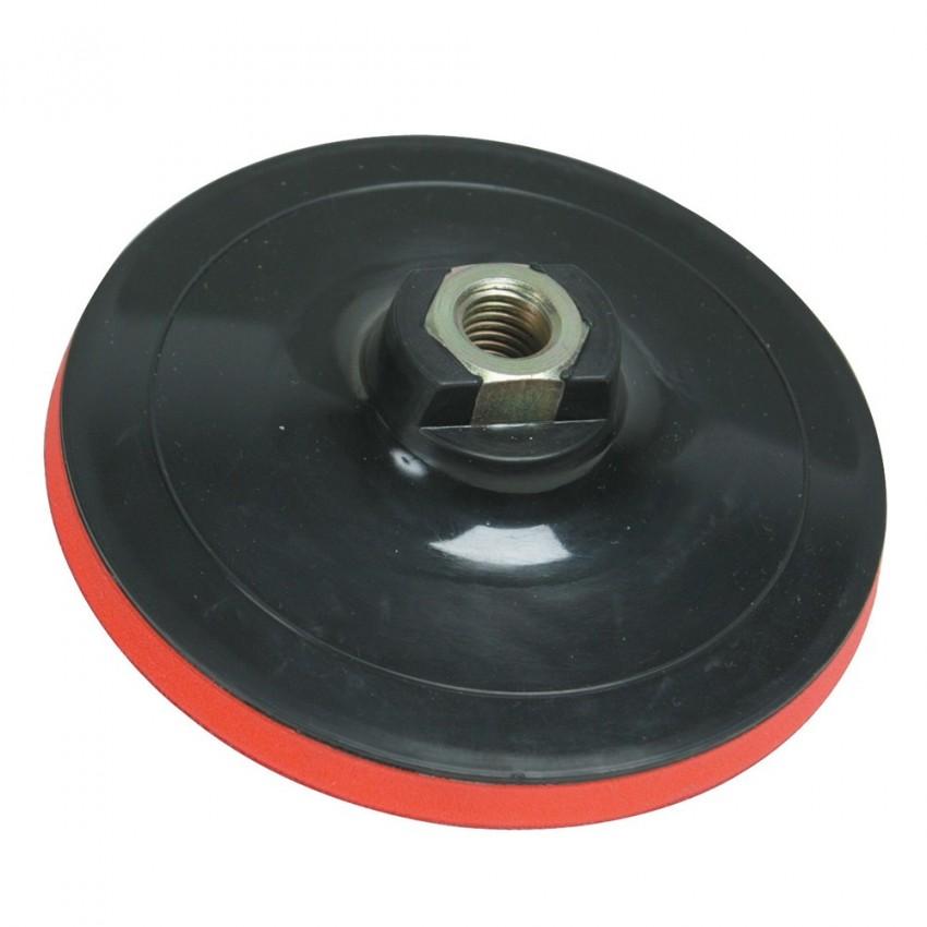 Talerz szlifierski z mocowaniem na rzep125 x 10 mm-427547-Silverline