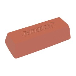 Pasta polerska 500 gDrobnoziarnista czerwona-107883-Silverline