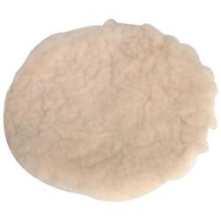 Nakladana tarcza polerska ze skóry owczej180  mm-107993-Silverline