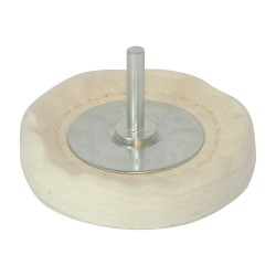 Filcowa tarcza polerska75 x 12 mm-105882-Silverline