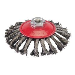 Szczotka stozkowa z drutu splatanego115 mm-580493-Silverline