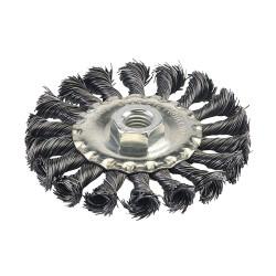 Szczotka tarczowa splatana100 mm-398772-Silverline