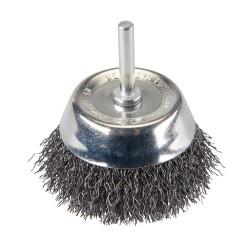 Szczotka doczolowa ze stalowego drutu falistego75 mm-PB04-Silverline