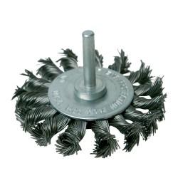 Szczotka tarczowa splatana75 mm-456933-Silverline