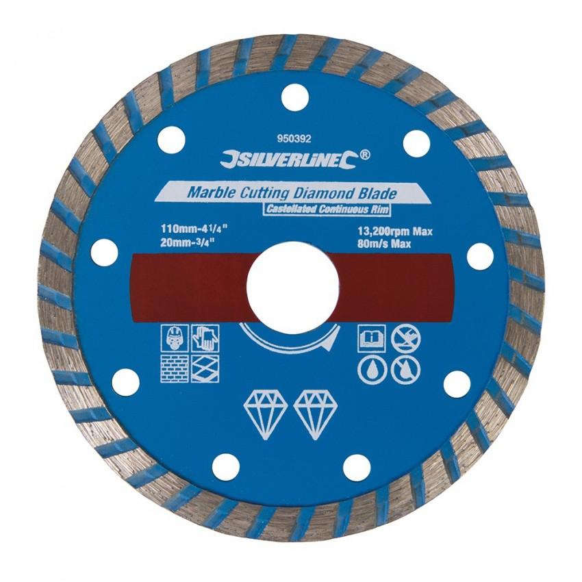 Tarcza tnaca do marmuru110 x 2.7 x 20mm ciagla obrecz-950392-Silverline