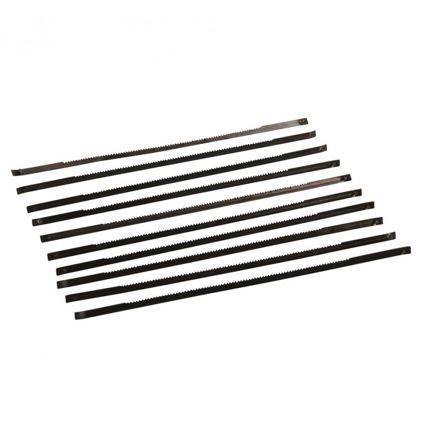 Brzeszczoty do wyzynarek stolowych 130 mm 10 szt.24 TPI-580485-Silverline