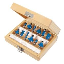 Zestaw frezów TCT 8mm
