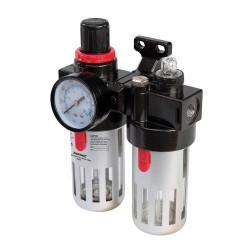 Reduktor cisnienia filtr powietrza oraz naolejacz150 ml-245014-Silverline