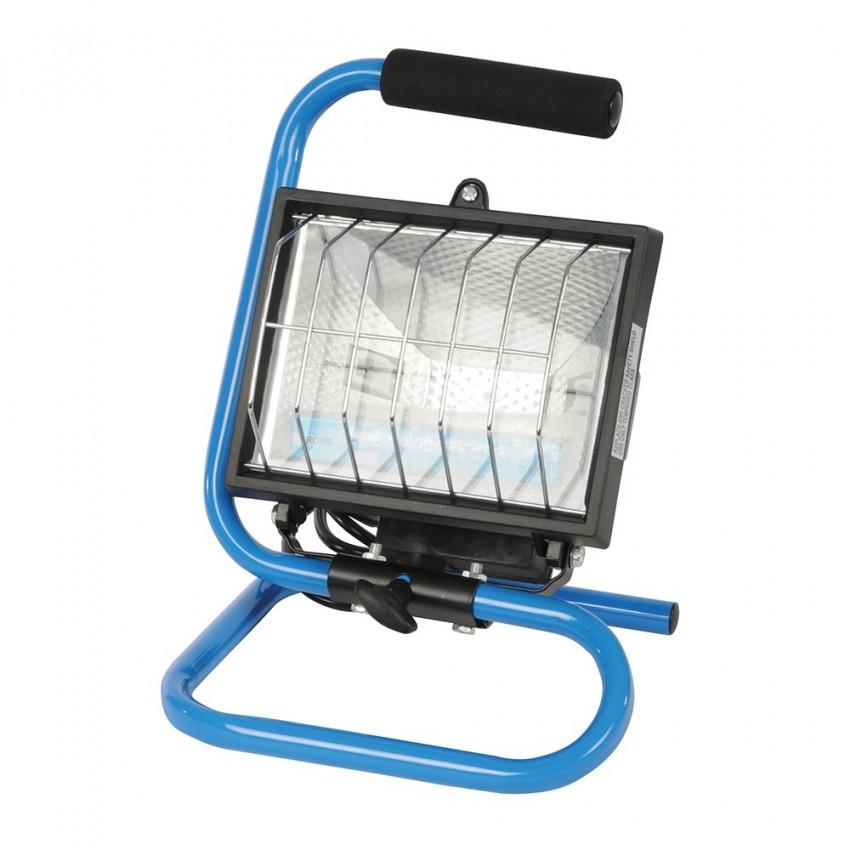 Lampa halogenowa przenosna 500 W500 W 240 V-613275-Silverline