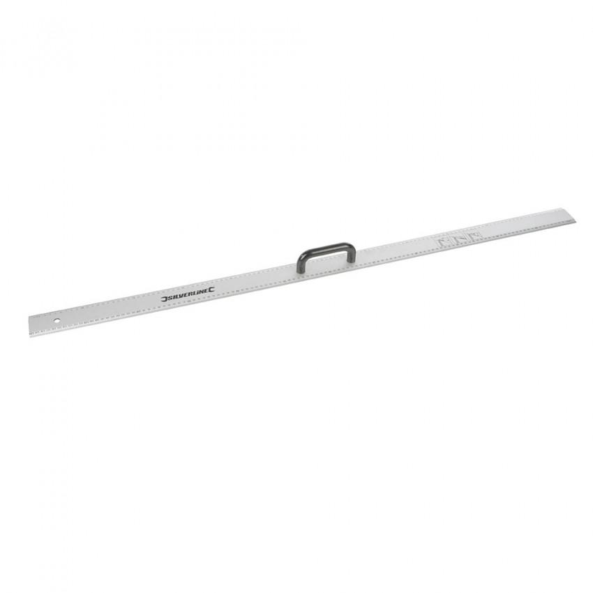 Aluminiowy liniał z uchwytem1200 mm-731210-Silverline